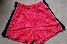 Nike Womens Animal Cheetah Print Pink Running Shorts Stretch Small S