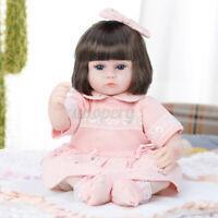 Reborn Dolls Baby Lifelike Sleeping Soft Vinyl Silicone Newborn Handmade