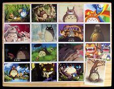 Ghibli Miyazaki Anime Mon Voisin TOTORO Lot de 16 Cartes Postal V となりのトトロ