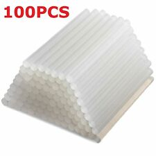 100X7MM ADHESIVE HOT MELT GLUE STICKS FOR TRIGGER ELECTRIC GUN HOBBY CRAFT 7.2MM