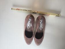 PACO GIL, Damen Schuhe, Puder, Gr. 38, Zweimal getragen