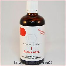 Holy Land HL Alpha Peel AHA Natural Alpha Hydroxy Complex Peeling 100ml