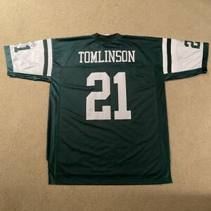 LaDainian Tomlinson New York Jets Reebok On Field Football Jersey 2XL Green