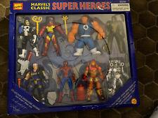 Toy Biz Marvel GREATEST SUPER HEROES Set of 8 Action Figure Play Set 1996 spider