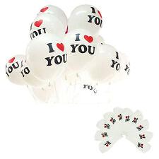 10pcs Pearl Latex Balloon I LOVE YOU Balloons Christmas Wedding Decorations ZY1