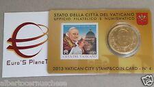 50 cent euro Vaticano Vatican Vatikan 2013 Papa Giovanni XXIII coin card N 4