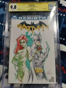 Ale Garza Sketch - Batman & Ivy  9.8 CGC