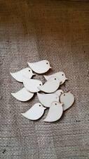 Wooden Bird Shapes x 30 Robins