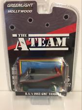 RARE The A Team B.A.s 1983 GMC Vandura 1:64 Scale Greenlight