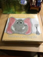 Fitz And Floyd Elephant Children's Serving Set New In The Box