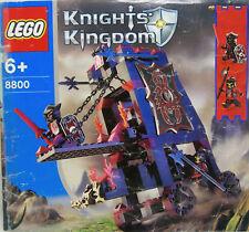 LEGO Knights' Kingdom #8800 - Vladek's Siege Engine - Instruction Manual ONLY