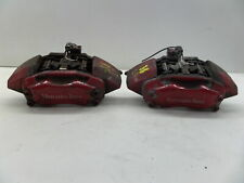 00-03 Mercedes W163 ML55 AMG Left Right Front Brembo Brake Calipers Red OEM