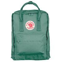Fjällräven Kanken Mochila Escolar Deporte Tiempo libre Bolsa verde 23510-664