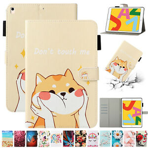"""For iPad 9.7"""" 5th 6th 10.2"""" 7th 8th Generation/ Air 1 2 3/ mini Smart Case Cover"""