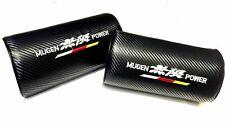 2Pcs Mugen Power Carbon Fiber & Embroidery Car Seat Neck Cushion Pillow Headrest (Fits: Acura Vigor)