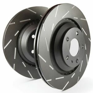 EBC Front Brake Discs USR Grooved Upgraded discs (Pair) - USR1106