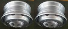 "2 Super Single 11.75 X 22.5"" Steel Wheel Rims for DAF IVECO SCANIA Truck 10 Hole"