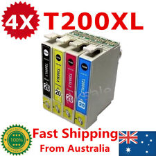 4x T200XL T2001-2004 Ink Cartridge For Epson XP100 200 300 400 310 410 WF-2510