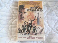 THE DOLL SQUAD VHS CLAMSHELL ACTION TED V. MIKELS MICHAEL ANSARA TURA SATANA