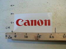 STICKER,DECAL CANON LOGO PHOTO ? 20 CM B