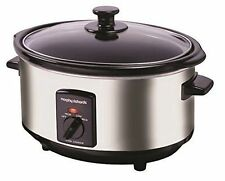 Morphy Richards 48715A Oval Slow Cooker 6.5L