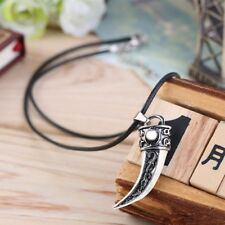 For Men Wolf Tooth Shape Pendant Jewelry Fashion Gift Tooth Shape Necklace
