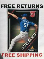 2013 Panini Pinnacle Base RC Card # 154 Justin Grimm MLB Texas Rangers