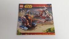 LEGO STARWARS!!! Istruzioni solo!!! PER 7258 Wookie ATTACCO