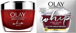 Olay Regenerist Whip Light as Air Active Moisturiser SPF 30 50 ml