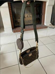 LOUIS VUITTON Multi Pochette Accessories Handbags Monogram Khaki