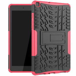 For Samsung Galaxy Tab A7 10.4 T500 2020 Rubber Slim Armor Kickstand Bumper Case