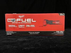 Milwaukee 2526-20 M12 FUEL Li-Ion Oscillating Multi-Tool Tool Only