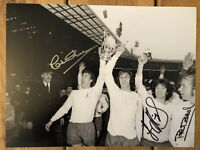 Tottenham Hotspur FA Cup Final Signed 16x12 Photo x 3 / Rare Spurs Image