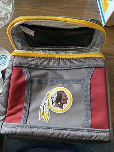 Coleman NFL Washington Redskins 9-Can 24-Hour Soft-Sided Cooler Lunch Bag New