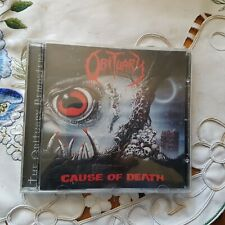 """CD OBITURARY  """"  cause of death  """" death metal"""