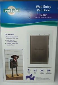 PetSafe Wall Entry Pet Door for Large Dogs, 1-100lb, PPA00-16944, #9449
