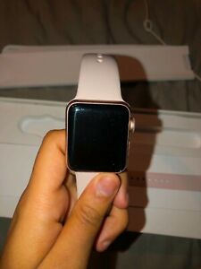 Apple Watch Series 3 - Rose Gold with Pink Sand Sport Band (GPS + Cellular) -...