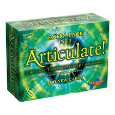 Articulate Extra Pack No.1 Expansion Board Game NEW