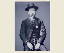 Wyatt Earp Portrait PHOTO Gunfighter Marshal Sheriff Tombstone OK Corral