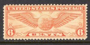 United States Scott #C 19 VF Unused 1934 6 Cent Winged Globe Rotary Press