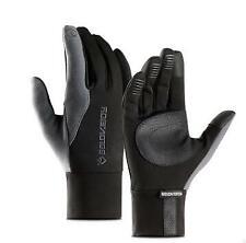 Pair Motorcycle Bike Gloves Winter Warm Touch Screen Glove Waterproof XL