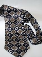 QUALITY BURTON BLUE & BROWN MIX MENS TIE IN EXCELLENT CONDITION    #  314