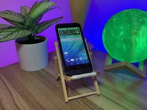 HTC Desire 510 - Cricket - 8GB - Black - Model 0PCV220 - Cracked - Working!