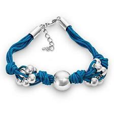 925 Sterling Silber Türkis Armband,Kugel Wickelarmband