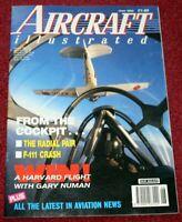 Aircraft Illustrated Magazine 1992 June Gary Numan Harvard,Northwest,RAF Phantom