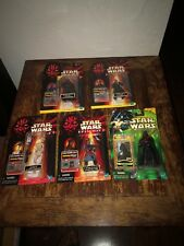 Star Wars Episode 1 CommTech Collection 1 2 3 Mix Lot Of 5 Figures Hasbro Vader
