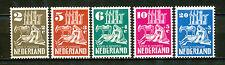Nederland  556 - 560 ongebruikt (3)