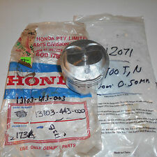 GENUINE HONDA PARTS PISTON 0.50MM SECOND OVERSIZECB400T/N 13103-443-000