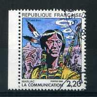 FRANCE 1988 timbre 2505, Communication en BD, oblitéré