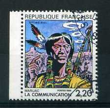 FRANCE 1988 timbre 2505, Communication en BD, oblitéré